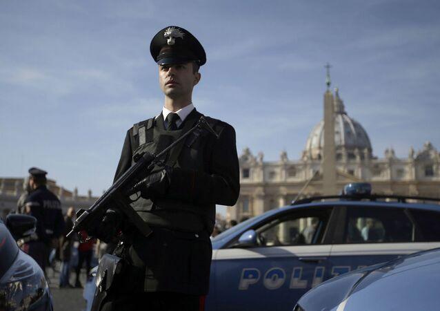 A polícia italiana (imagem referencial)