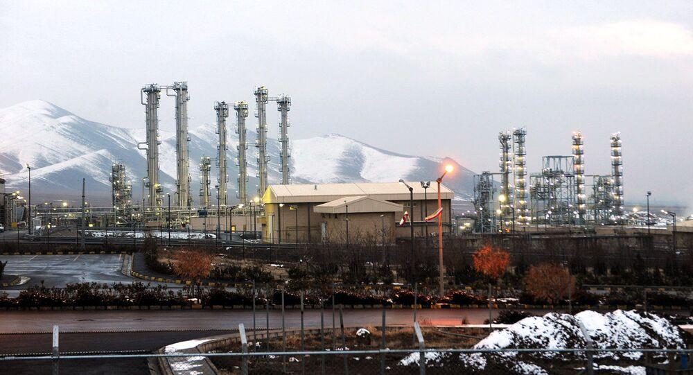 Instalações nucleares em Arak, Irã, 15 de setembro de 2015