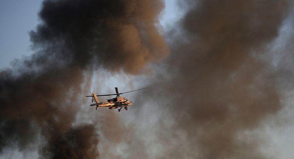 Helicóptero Apache (imagem referencial)