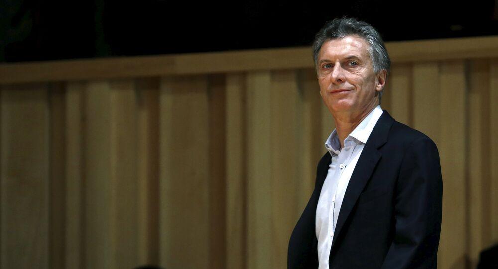 Mauricio Macri, presidente eleito da Argentina