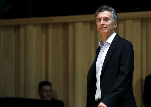 Presidente eleito da Argentina, Mauricio Macri