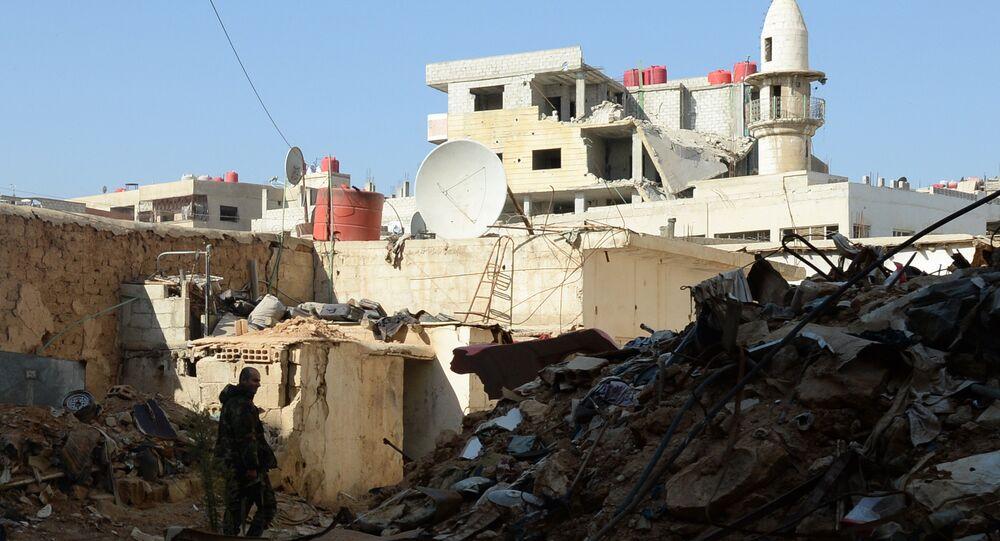 Subúrbios de Damasco, Síria