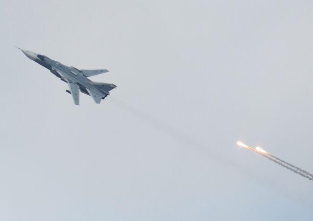 O caça russo Su-24