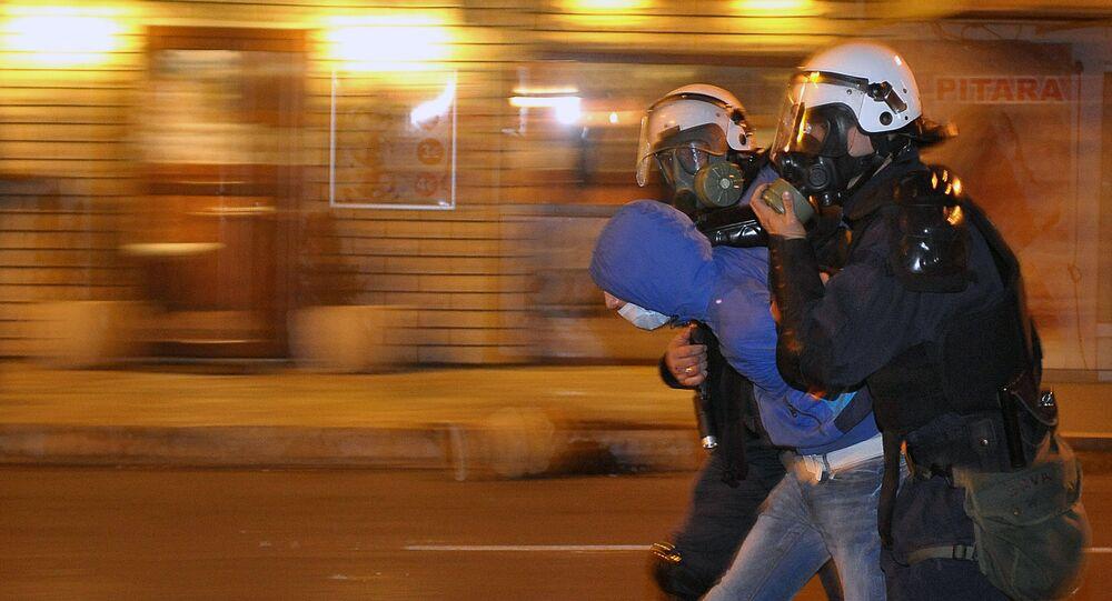 Protestos em Podgorica