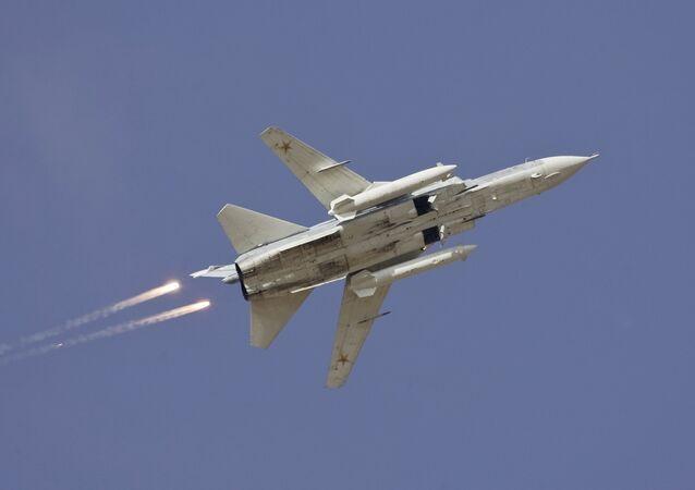 Bombardeiro russo Su-24