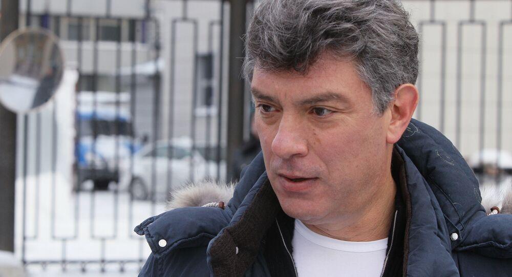 Político russo Boris Nemtsov