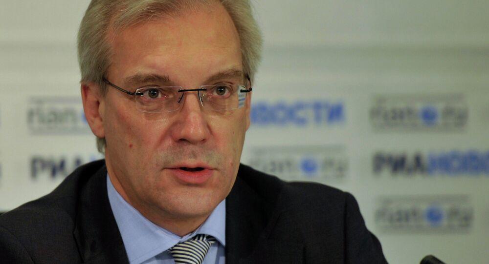 Alexander Grushko, representante da Rússia na OTAN