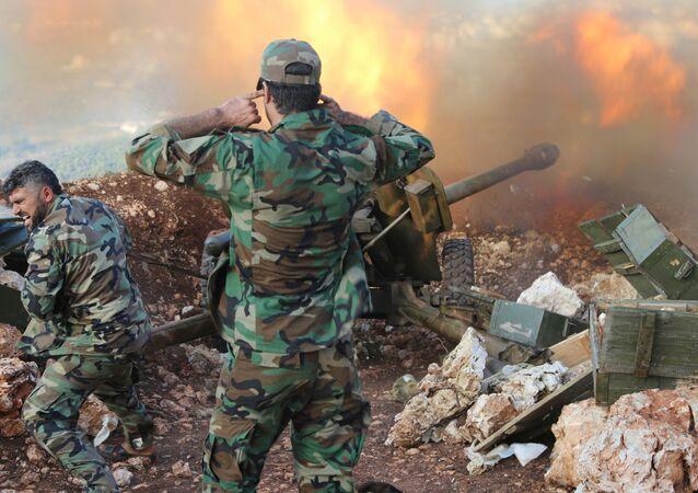 Exército sírio atira morteiro na província de Latakia
