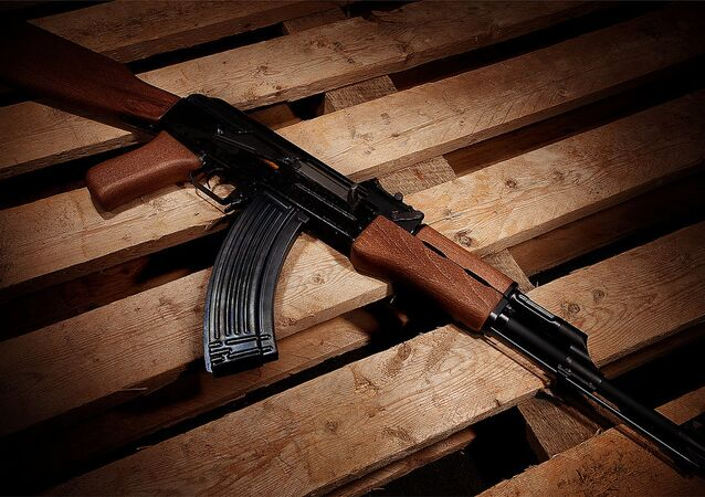 AK-47 (foto de arquivo)
