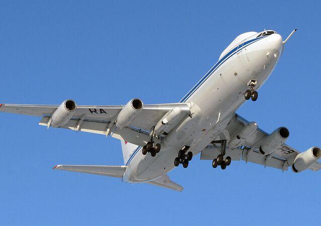 Avião russo Ilyushin Il-80