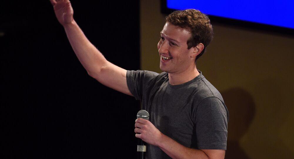 Mark Zuckerberg, cofundador do Facebook