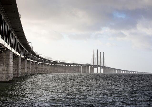 Ponte de Oresund, ligando a Suécia à Dinamarca