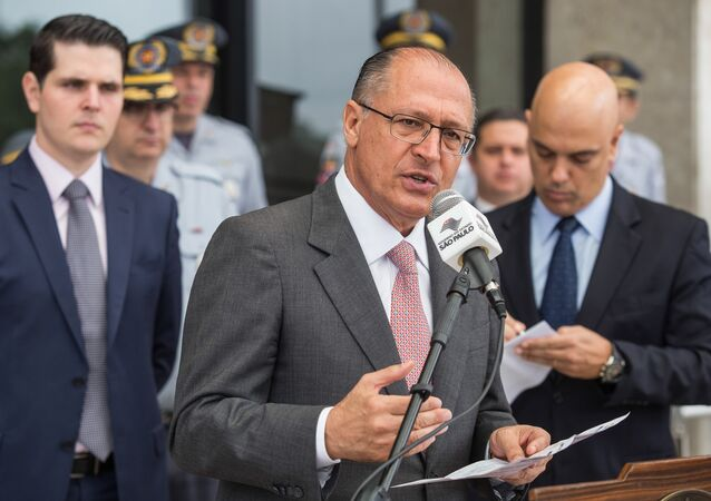 Governador de São Paulo, Geraldo Alckmin
