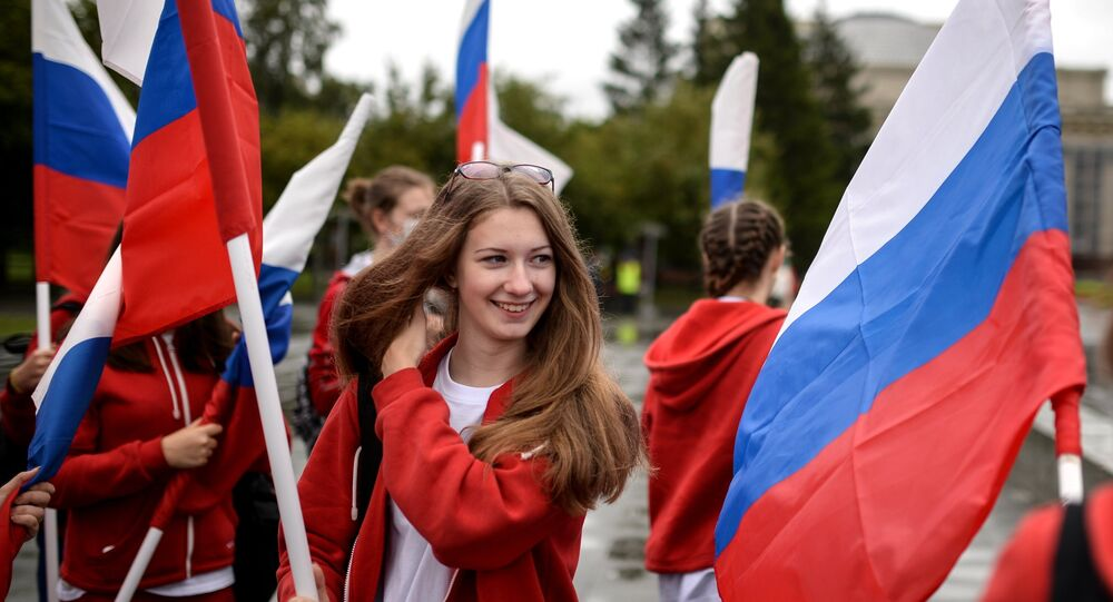 Dia da Bandeira na Rússia
