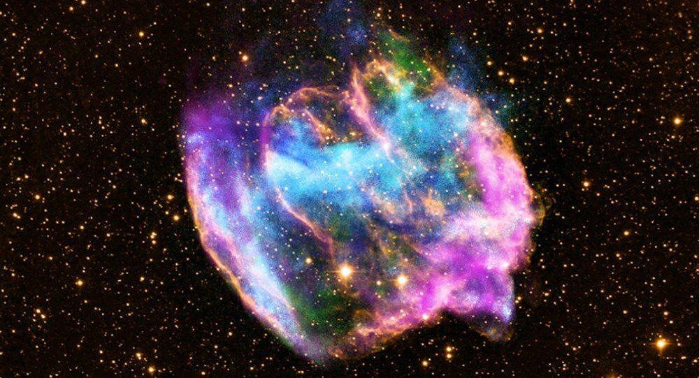 Remanescente de supernova W49B (imagem referencial)