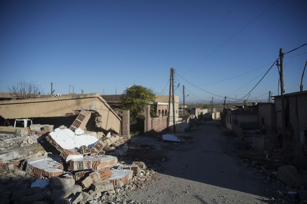 Vilarejo cristão na Síria libertado da ocupação terrorista do Daesh