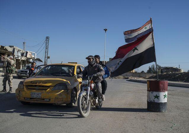 Cidade cristã no nordeste da Síria