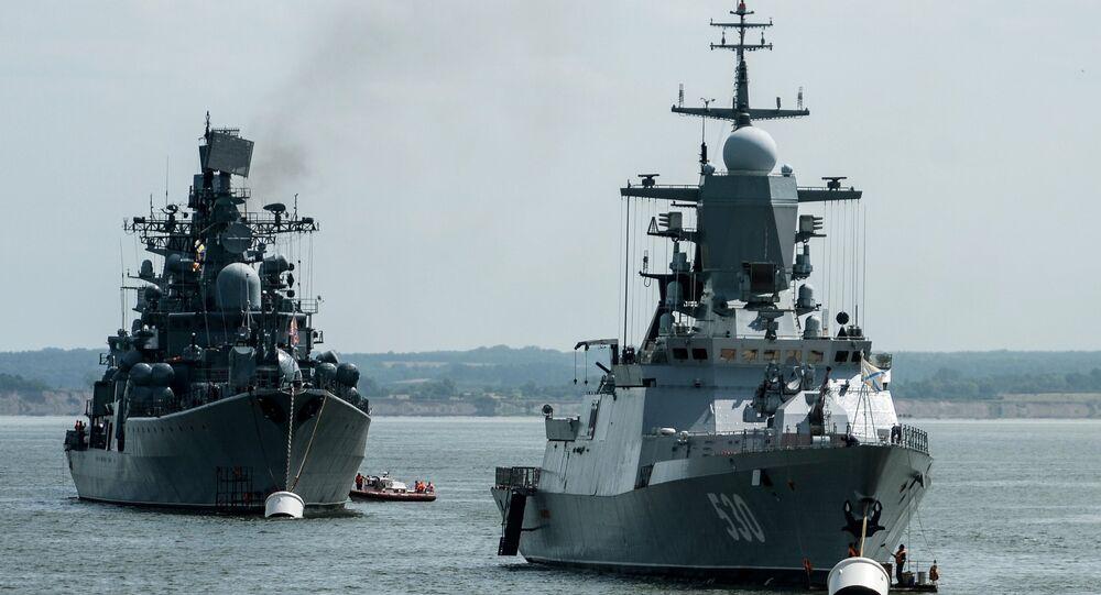 Corveta Stereguschi da Marinha russa