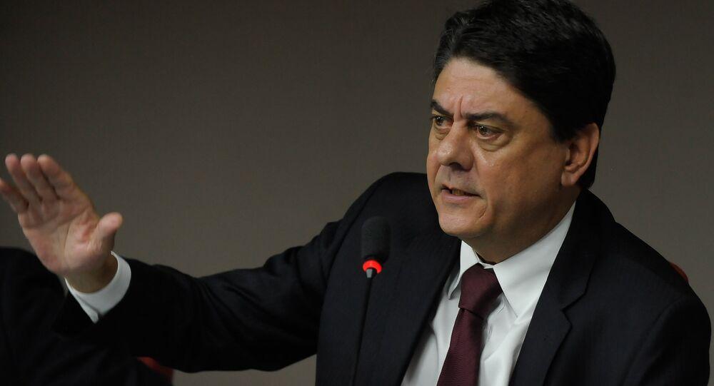 Deputado federal Wadih Damous, do PT do Rio de Janeiro