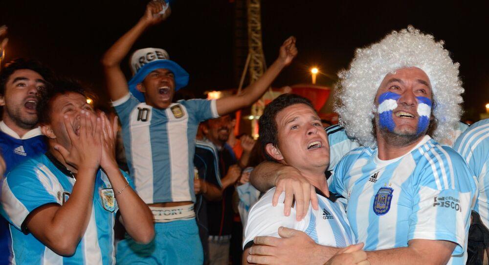 Turistas argentinos em Brasília durante a Copa do Mundo FIFA de 2014