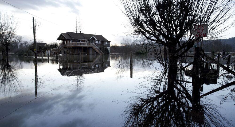 Inundação nos EUA (imagem referencial)