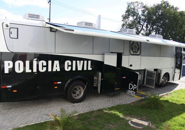 Delegacia móvel da Polícia Civil do Estado do Rio de Janeiro (arquivo)
