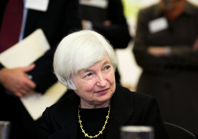 Janet Yellen, chefe do Federal reserve, o Banco Central dos EUA