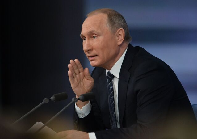 Grande coletiva de Vladimir Putin em 17 de dezembro