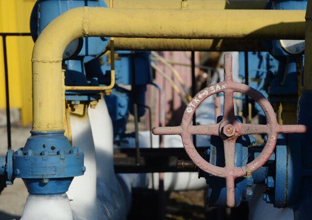 Gasoduto na região de Donetsk