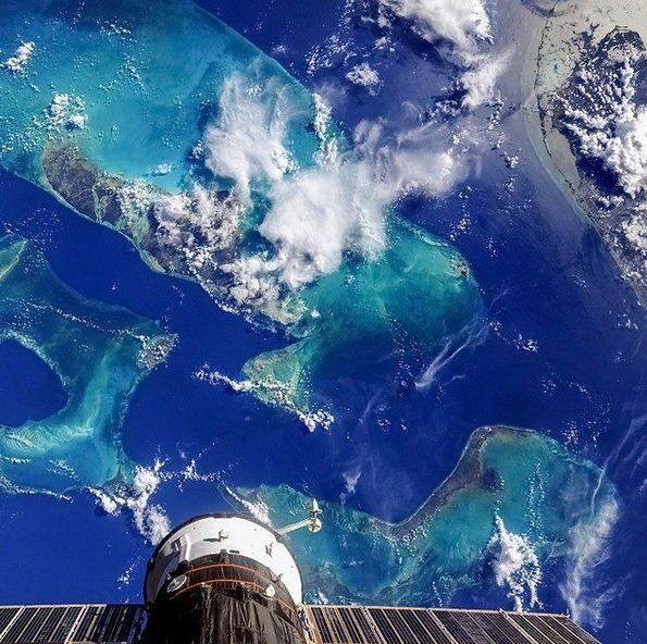 Comunidade das Bahamas, com a ilha de Andros em destaque
