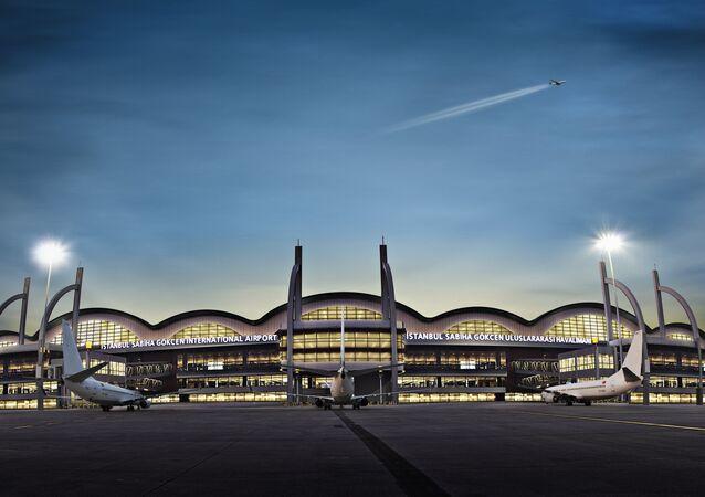 Aeroporto Internacional Sabiha Gokcen em Istambul (Turquia)