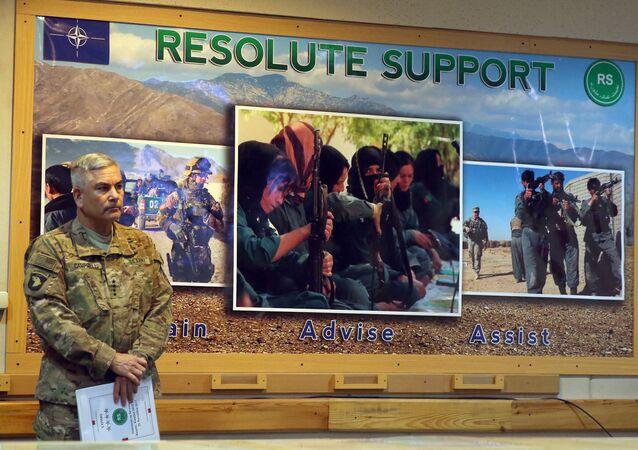 John Campbel, comandante da missão estadunidense no Afeganistão, em 25 de novembro