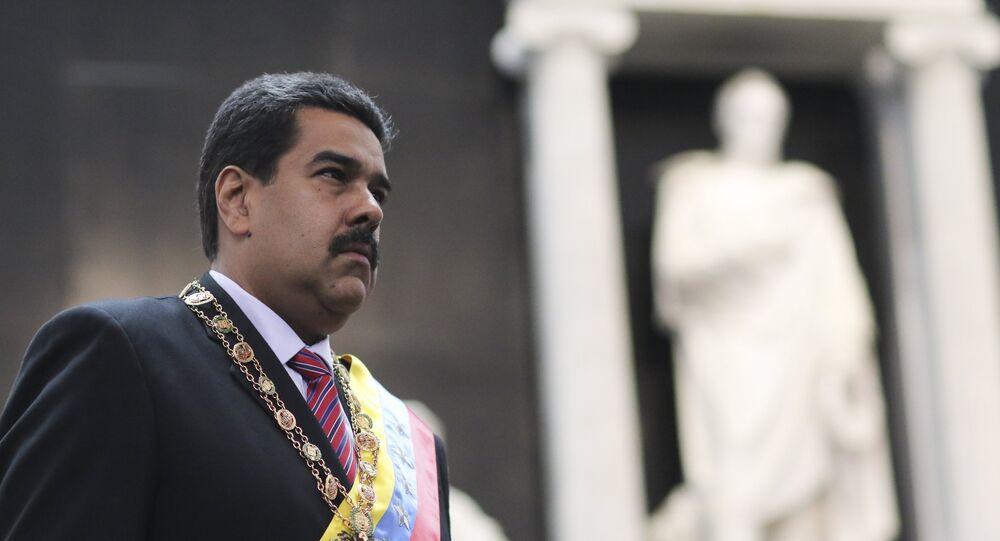 Presidente da Venezuela, Nicolás Maduro (arquivo)