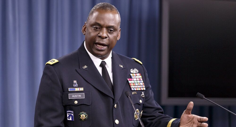 General Lloyd J. Austin III, líder do Comando Central dos EUA