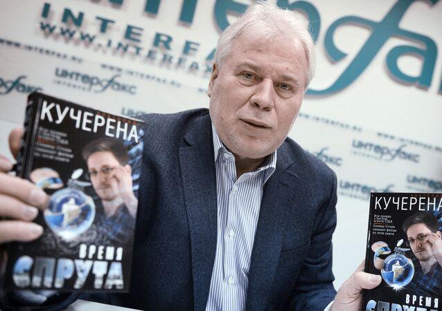A presentação do primeiro livro da trilogia Tempos de Polvo de Anatoly  Kucherena