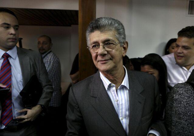 Henry Ramos Allup, novo presidente da Assembleia Nacional da Venezuela