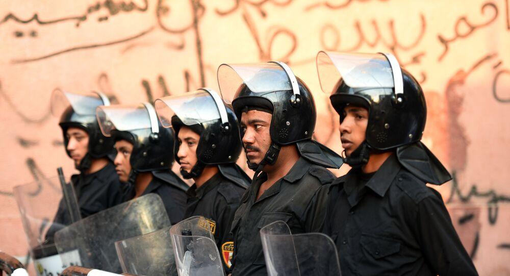 Polícia do Egito
