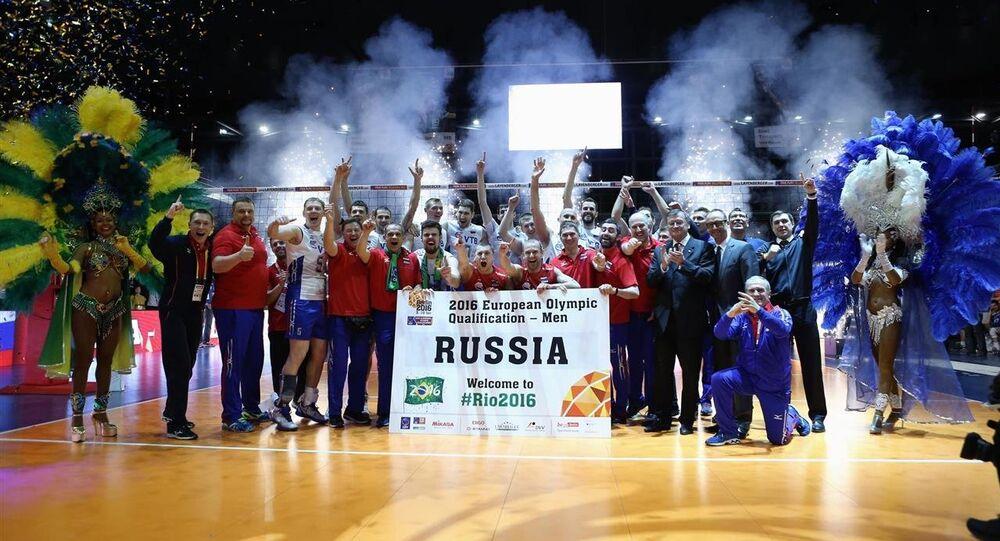 Seleção masculina de vôlei da Rússia