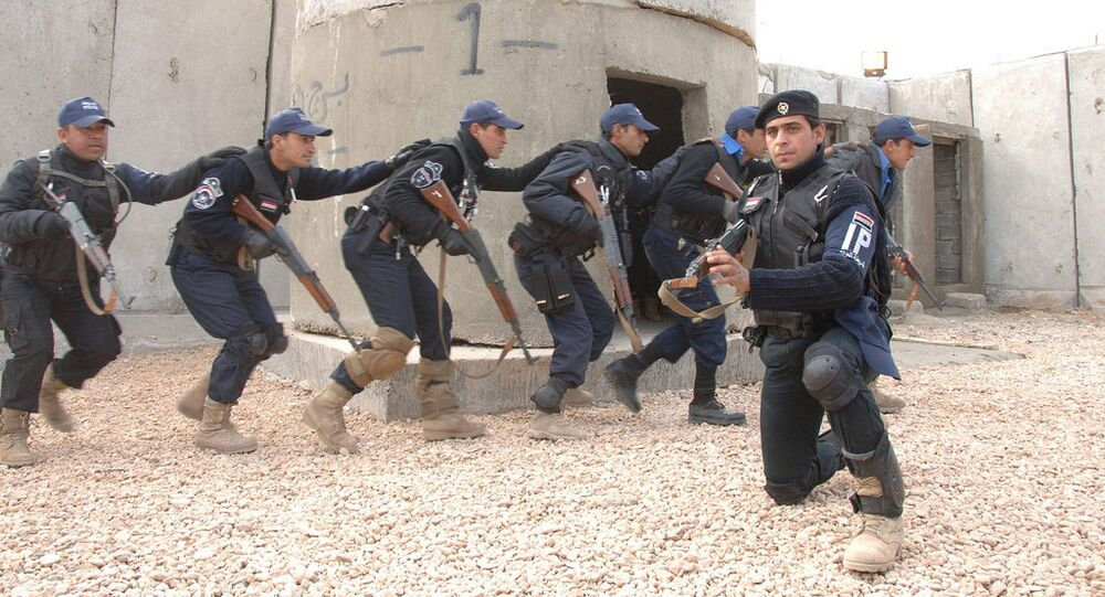 Members of the Iraqi National Police