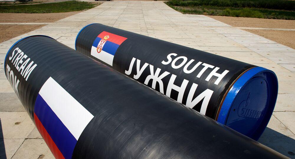 Partes do South Stream (Corrente do Sul)