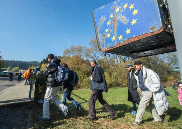 Crise migratória na União Europeia