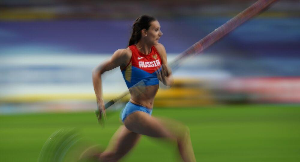 Yelena Isinbayeva, principal nome do atletismo russo nos últimos anos, nunca foi flagrada em exames antidoping