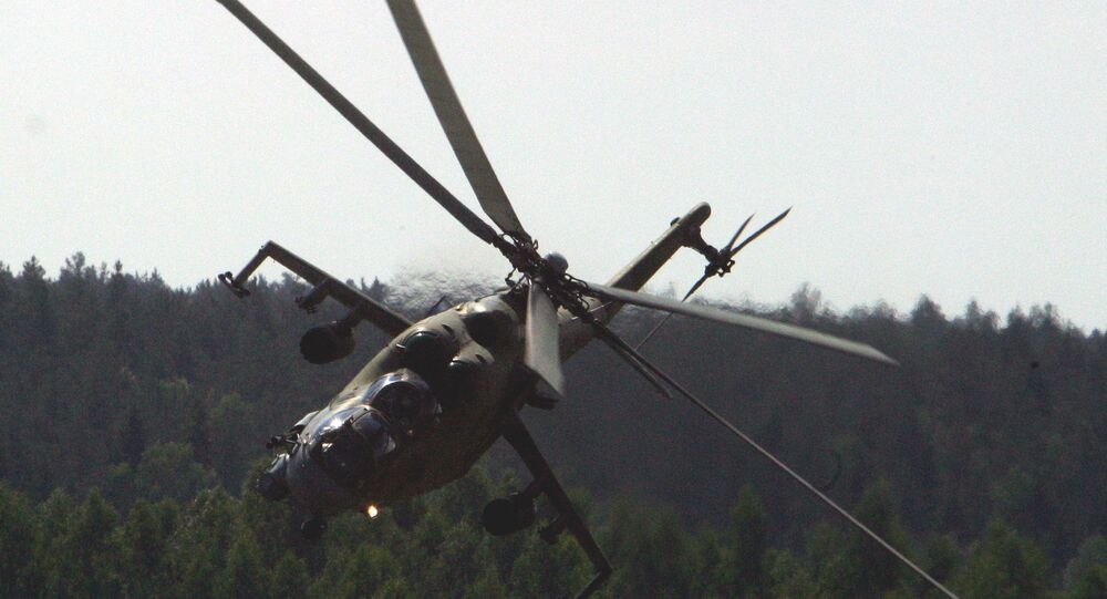 Helicóptero de assalto Mi-24 inspirou tanto os seus desenhadores e operadores que recebeu todo um monte de apelidos, desde 'Crocodilo' (Krokodil) e 'Copo' (Stakan) a 'Tanque Voador' (Letayuschy Tank)