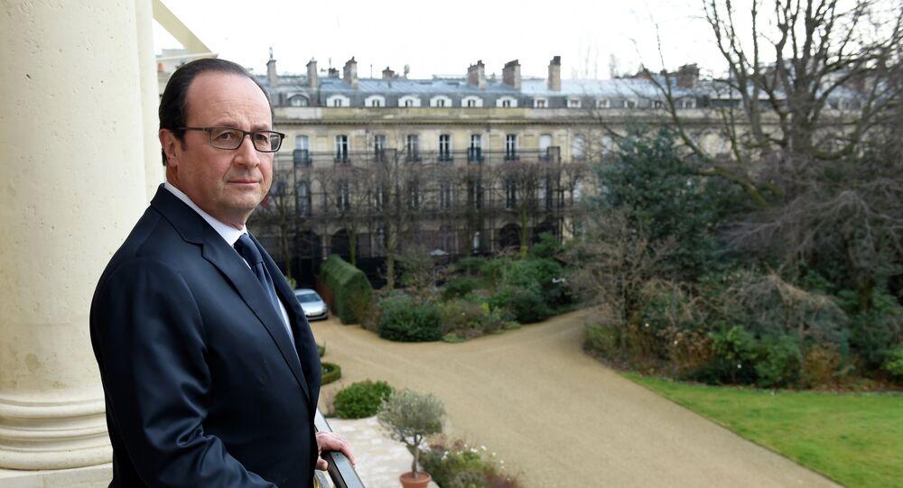 Presidente da França François Hollande