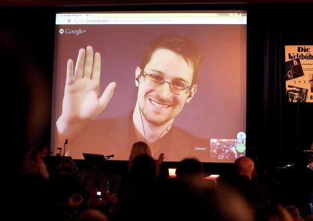 Edward Snowden, ex-agente da inteligência norte-americana