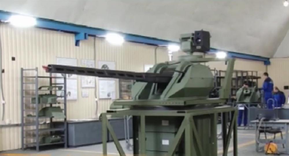 Protótipo do sistema de combáte automático do futuro, Sevastopol, Crimeia