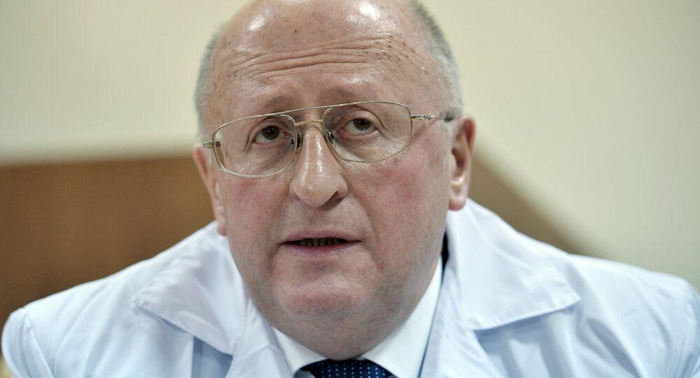 Aleksandr Gintsburg, diretor do Centro Nacional de Pesquisa de Epidemiologia e Microbiologia Gamaleya da Rússia