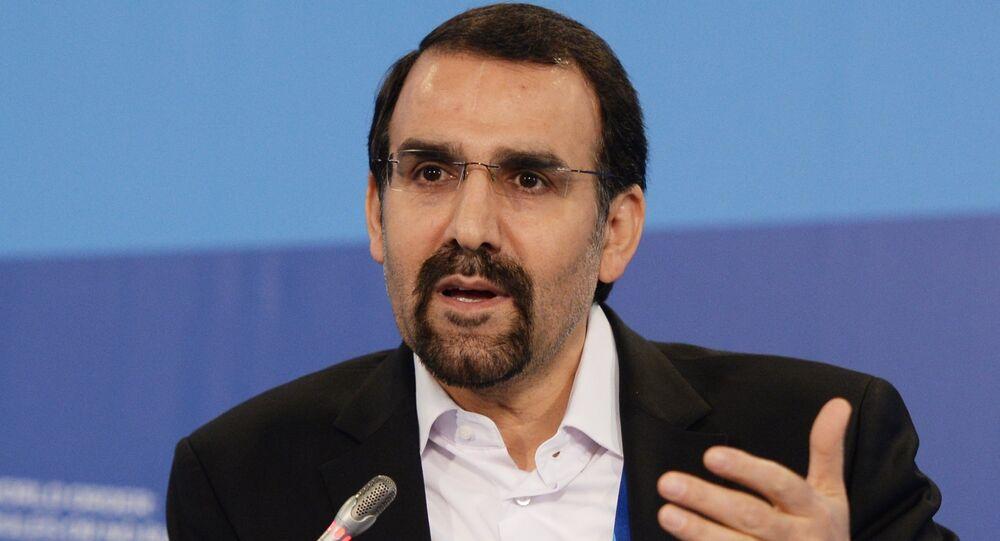 Mehdi Sanaei, embaixador da República Islâmica do Irã na Rússia