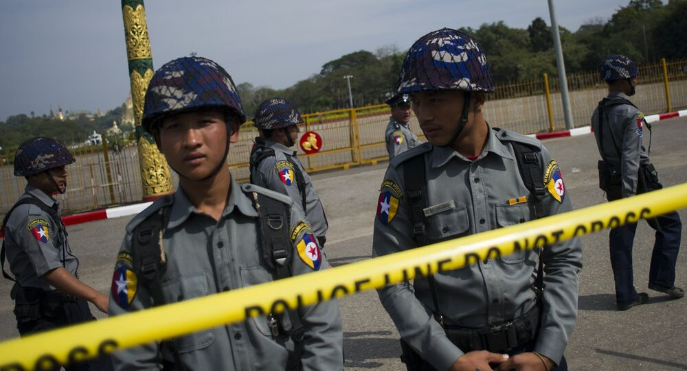 Polícia tailandesa
