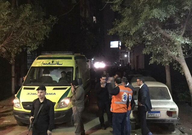 Local da explosão seria utilizado por grupo terrorista, segundo autoridades
